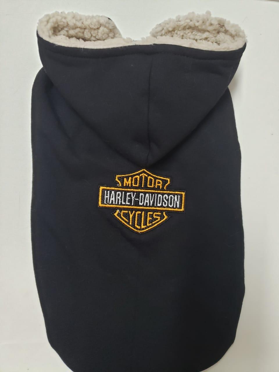 Blusa de Moletom para Cachorro Harley Davidson