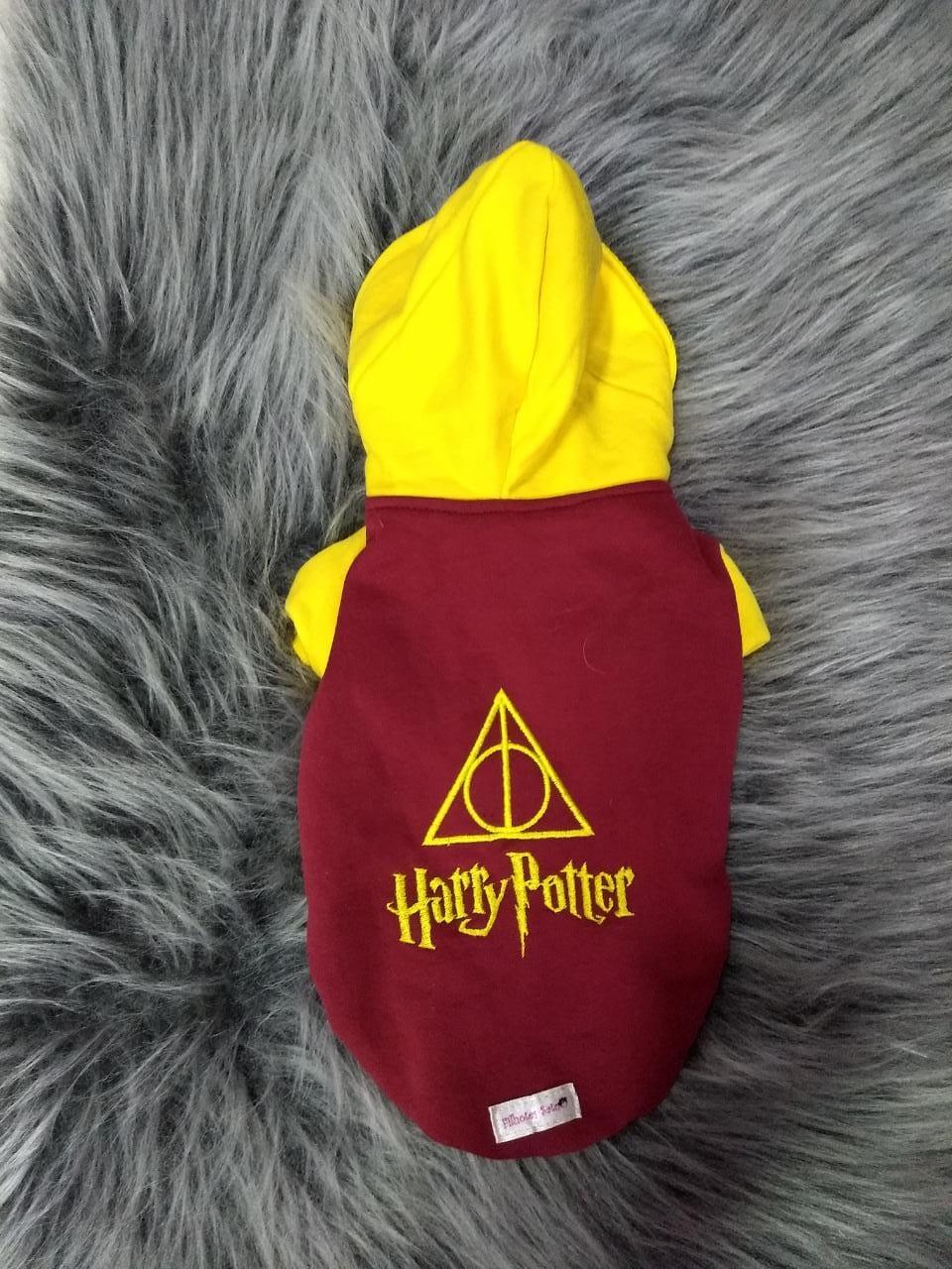 Blusa de Moletom para Cachorro Harry Potter