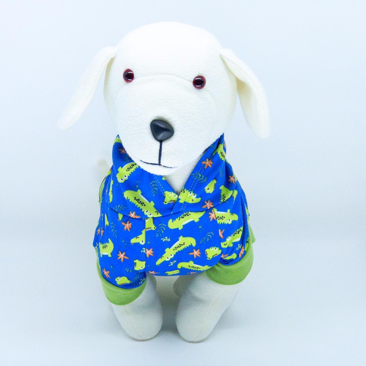 Blusa de Moletom para Cachorro - Jacaré