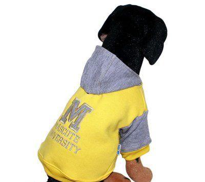 Blusa De Moletom para Cachorro University
