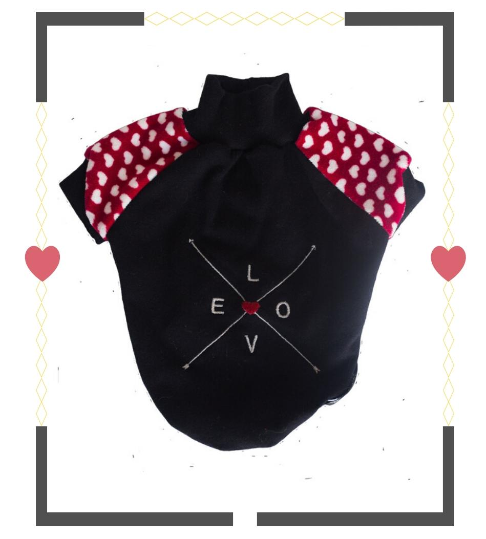 Blusa Moletom Love