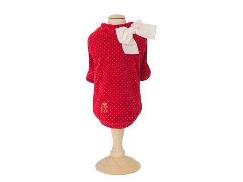 Blusa Plush Retrô - Vermelho