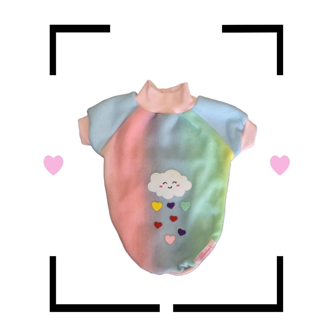 Blusa para Cachorro Rainbow