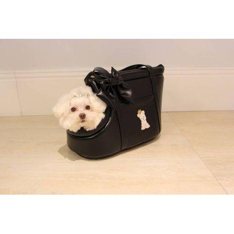 Bolsa de Passeio para Cachorro - Couro Diversas Cores