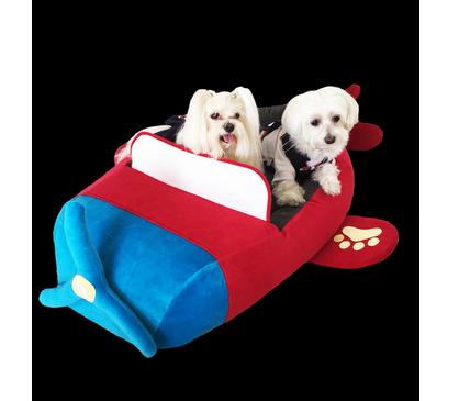 Cama  para Cachorro e Gato - Formato Avião