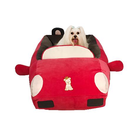 Cama para Cachorro e Gato - Formato de  Carro