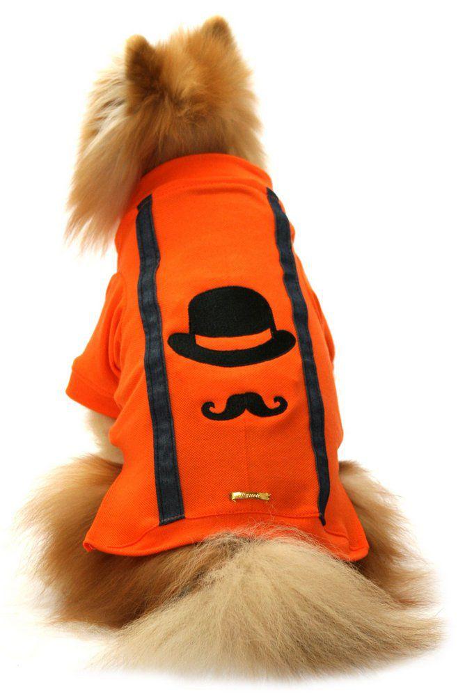 Camisa para Cachorro Bigode