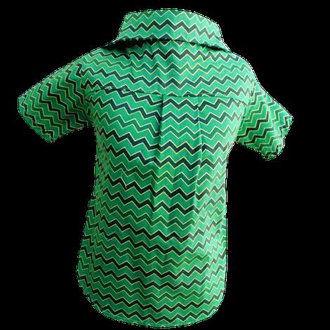 Camisa para Cachorro Chevron Verde - Natal