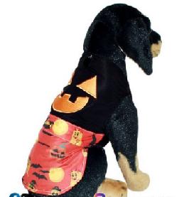 Fantasia para Cachorro Camisa Halloween