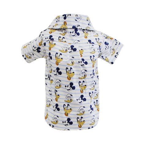 Camisa para Cachorro Mickey Listrada