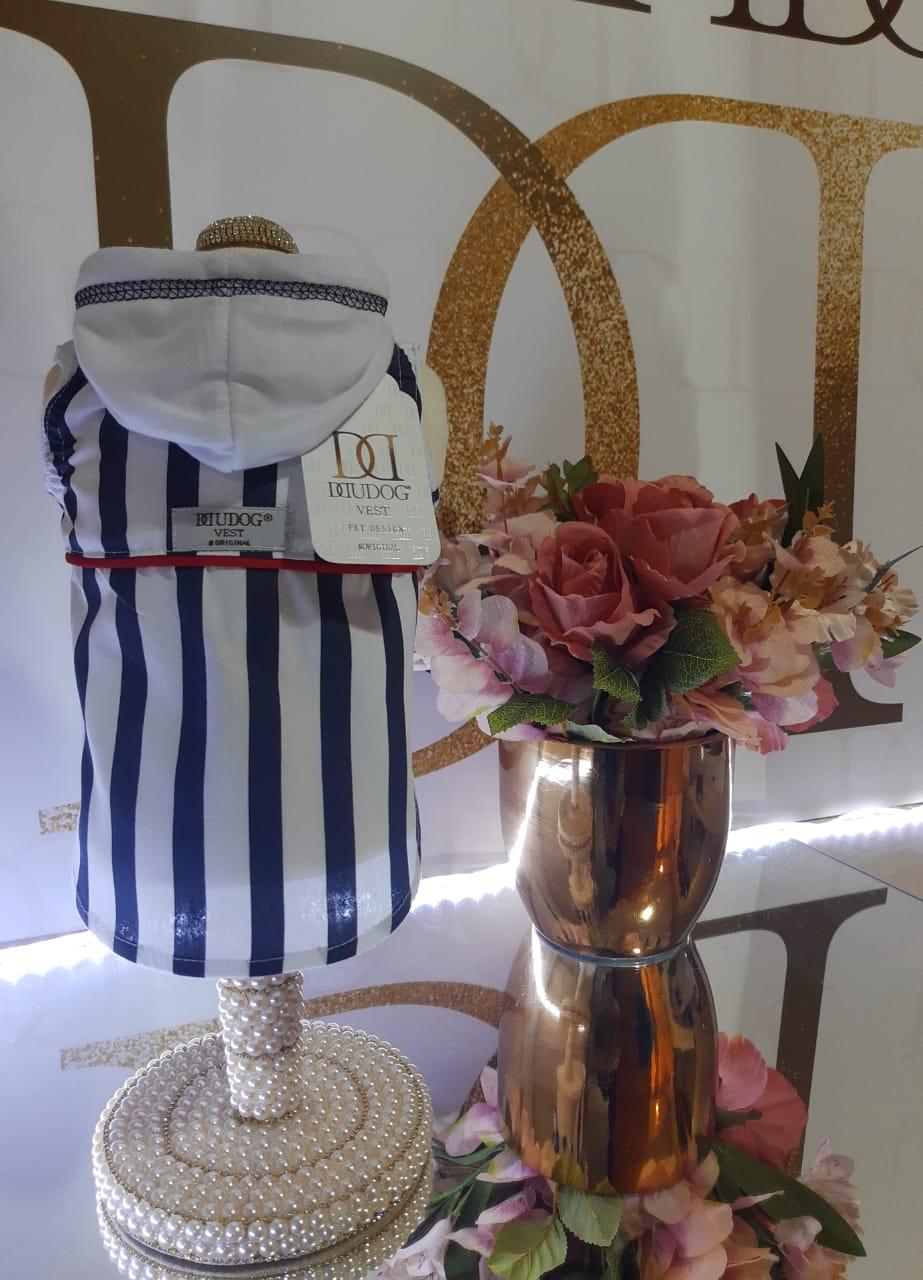 Camisa Regata Navy com Touca