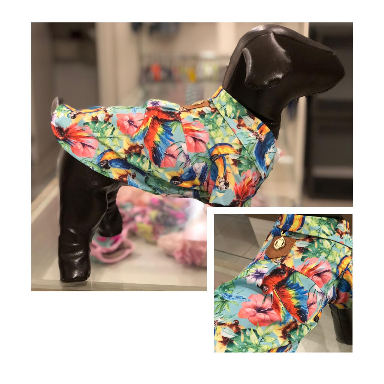 Camisa para Cachorro - Tropical