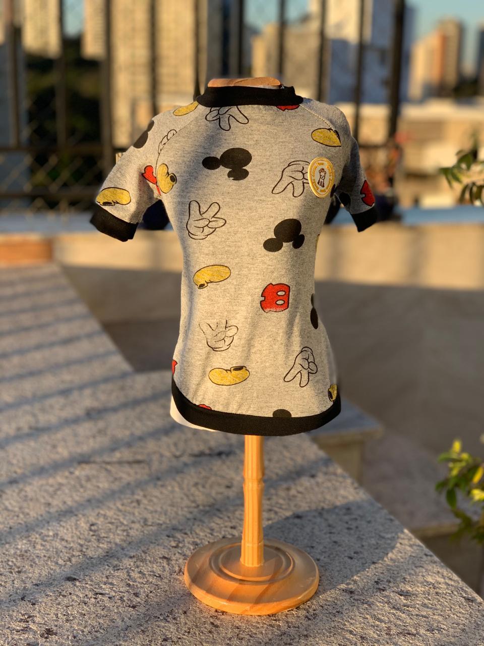 Camiseta Mickey Partes