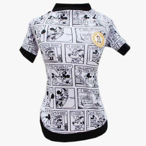 Camiseta para Cachorro Mickey Quadrinhos