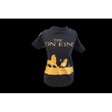 Camiseta para Cachorro Rei Leâo