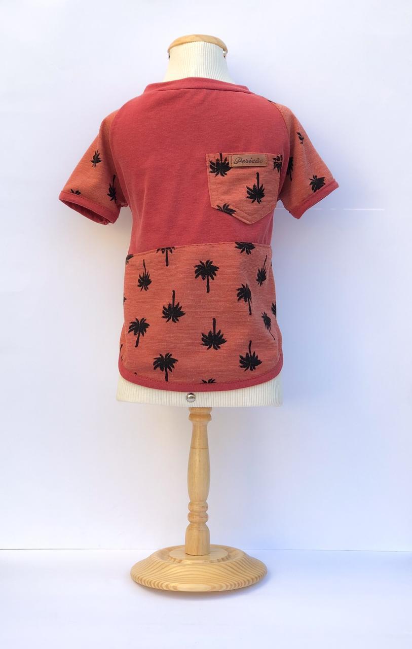 Camiseta Tropical Telha
