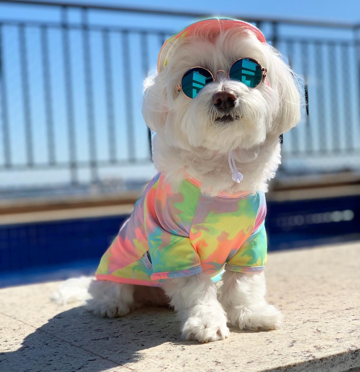 Camiseta UV Tie Dye