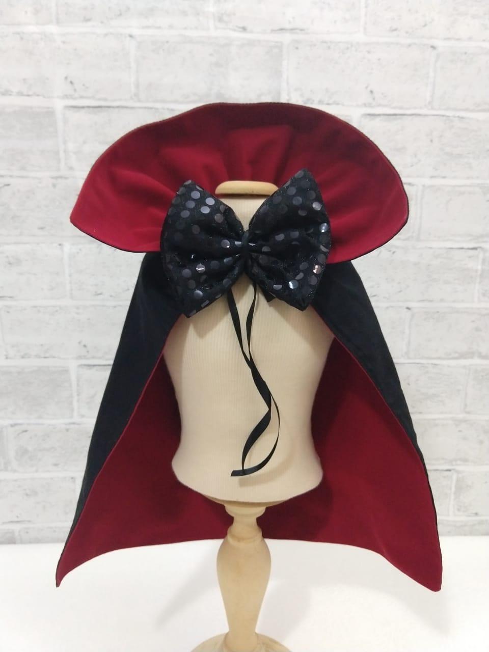 Fantasia para Cachorro Capa Drácula Halloween