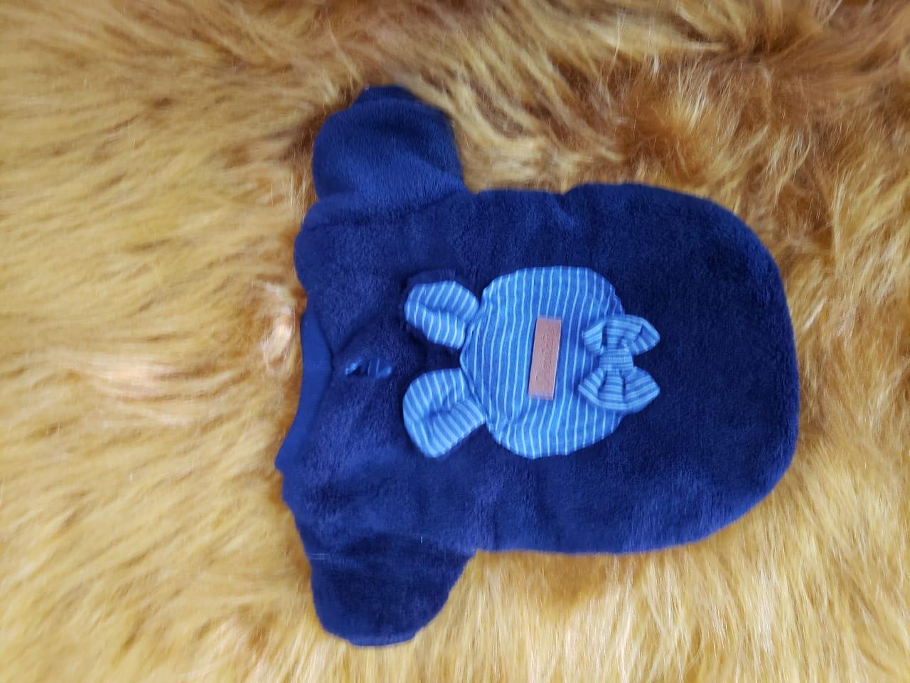 Casaco Mantinha Azul Orelhinhas