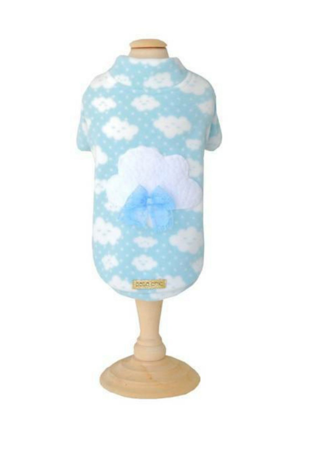 Casaco Soft Nuvem Azul