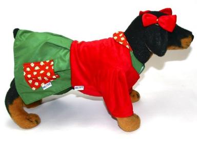 Fantasia para Cachorro Chiquinha - Chaves