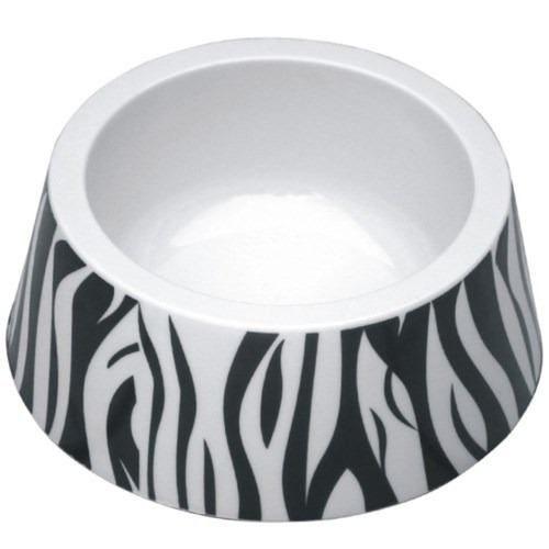 Comedouro Jambo Tigela Plástica - Zebra