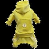 Conjunto Esporte Plush Amarelo