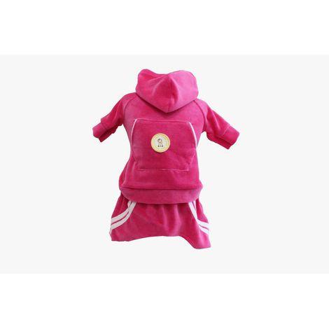 Conjunto Esporte Plush - Pink Com Brilho
