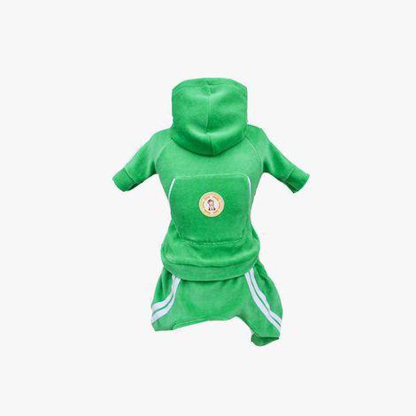 Conjunto Esporte Plush- Verde