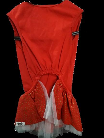 Vestido Patch Papai Noel Natal