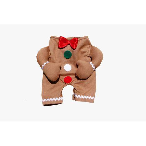 Fantasia para Cachorro Biscoito Bracinho Natal
