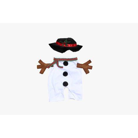 Fantasia para Cachorro Boneco de Neve - Bracinho Natal