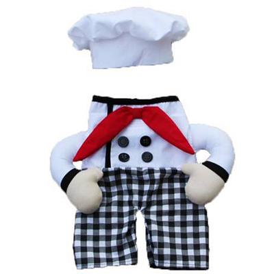 Fantasia para Cachorro Chef de Cozinha - Bracinhos - Varias Cores