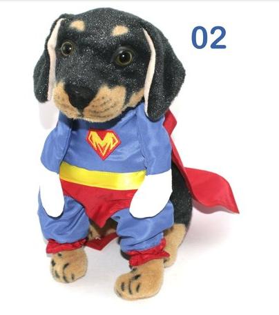 Fantasia para Cachorro Bracinhos - Heróis