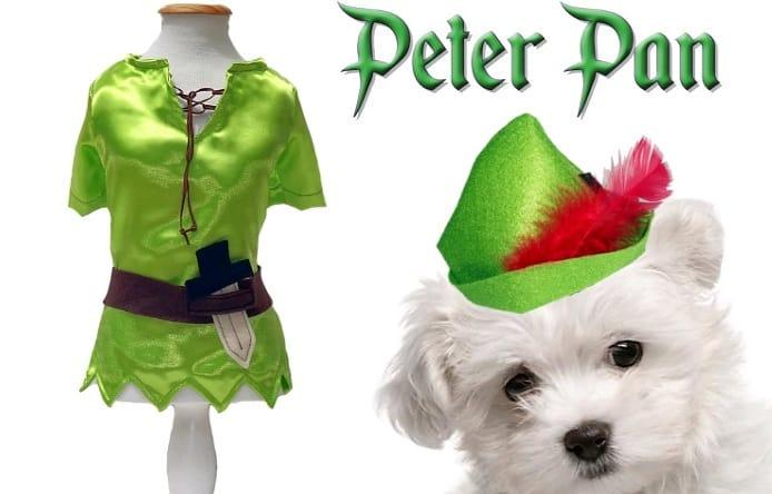 Fantasia para Cachorro Peter Pan