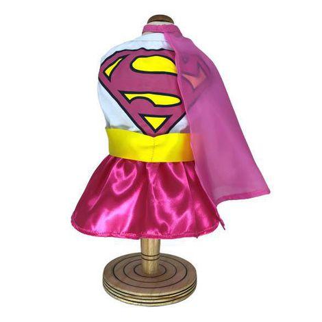 Fantasia para Cachorro Supergirl