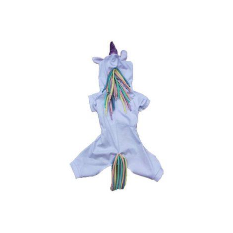 Macacão Unicórnio - Lilás e Azul