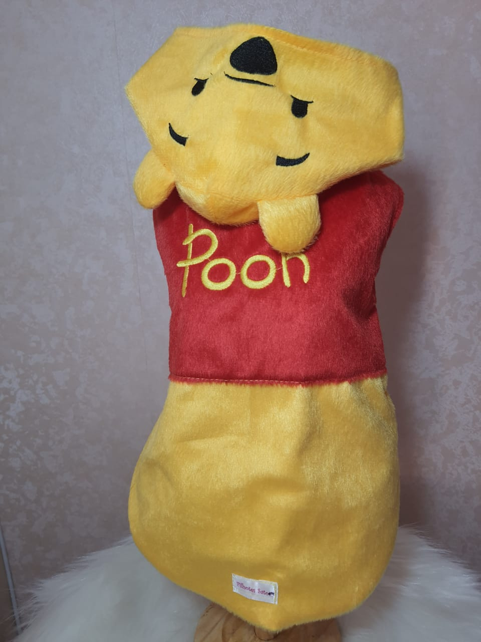 Roupa para Cachorro Ursinho Pooh