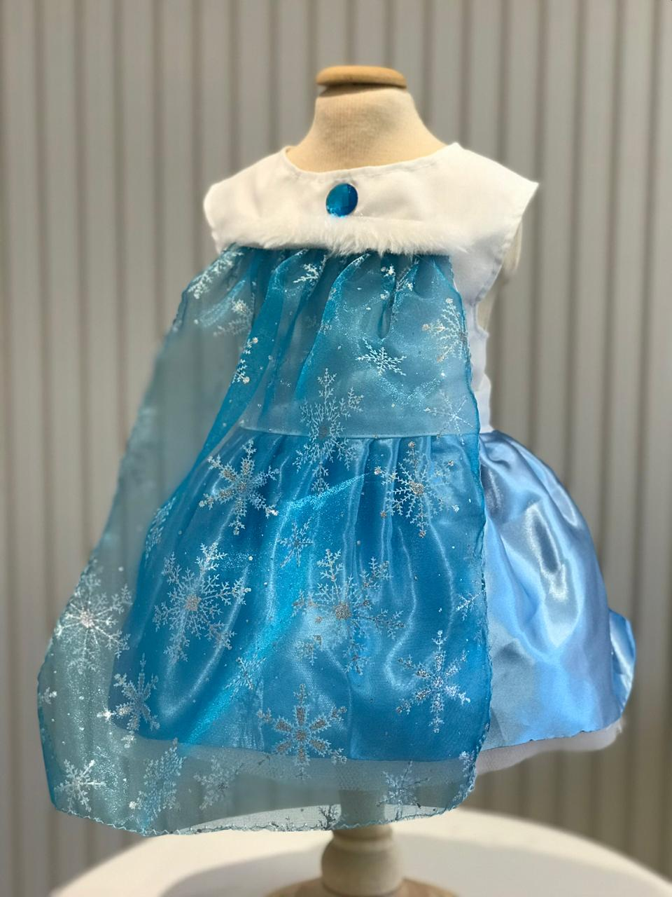 Fantasia para Cachorro Vestido Frozen