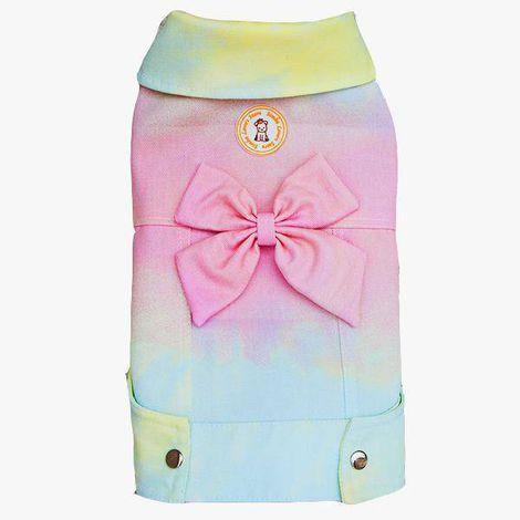 Jaqueta Tie Dye Candy Laço