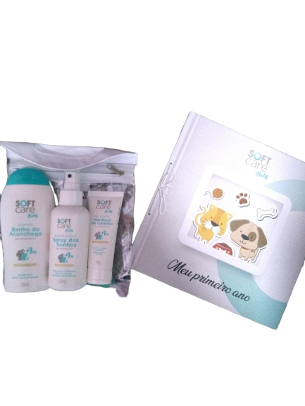 Kit Soft Care Baby Para Cães E Gatos