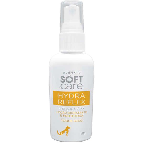 Loção Hidratante e Protetora Solar Soft Care Hydra Reflex