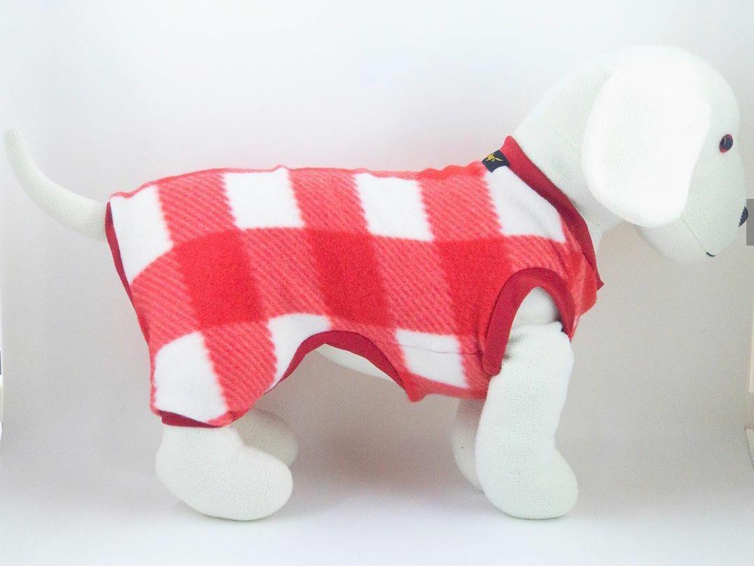 Macacão de Soft Xadrez- Vermelho