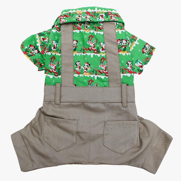 Macacão Natal Mickey Verde