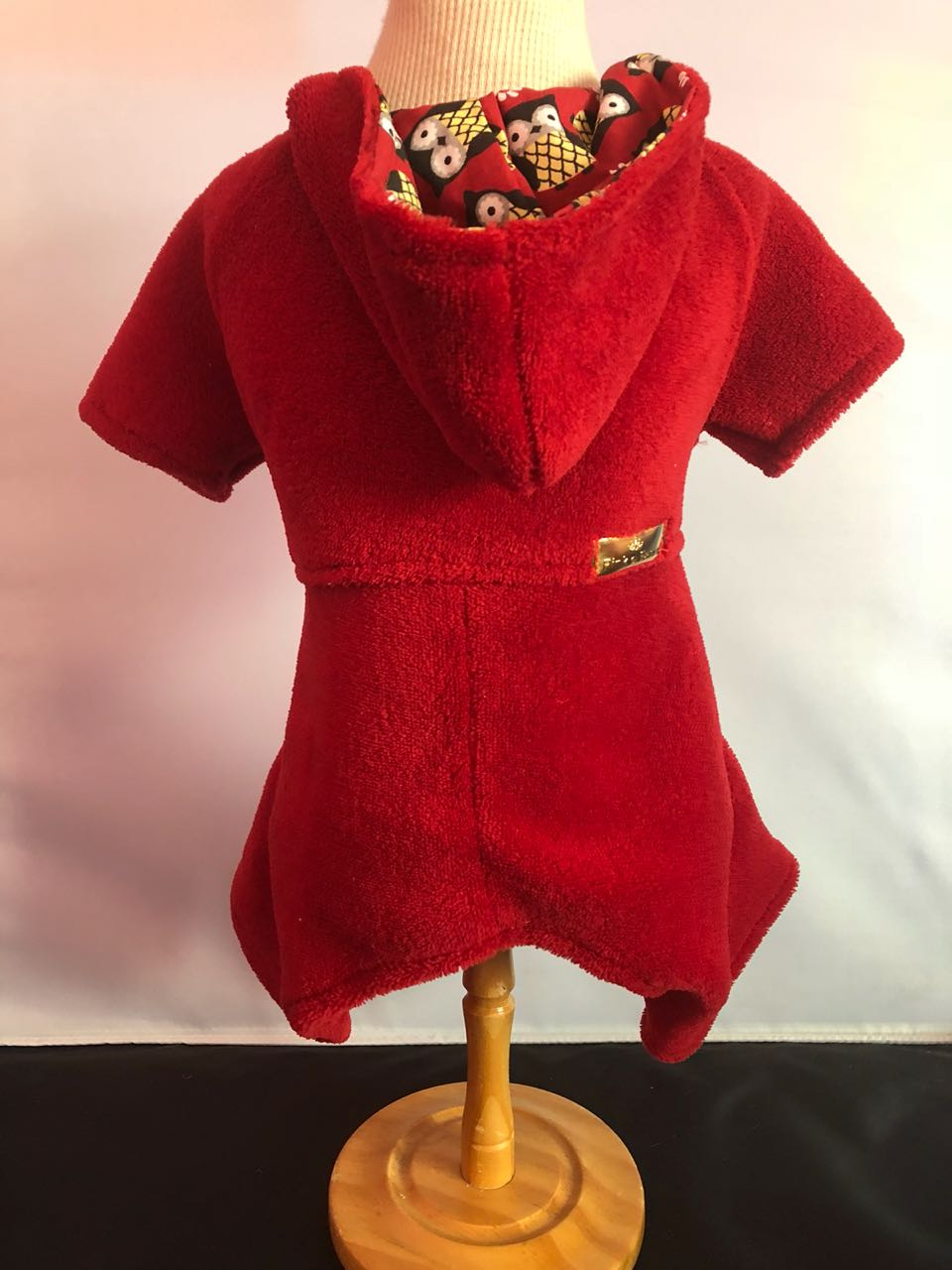 Macacão Plush Vermelho