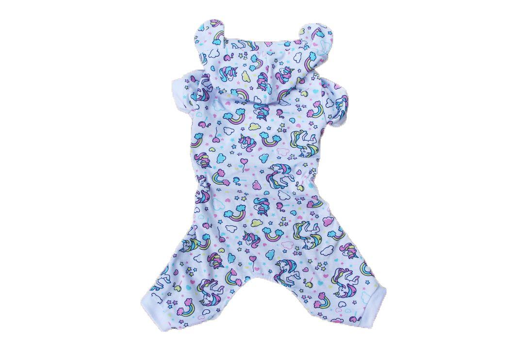 Pijama para Cachorro Macacão Unicórnio