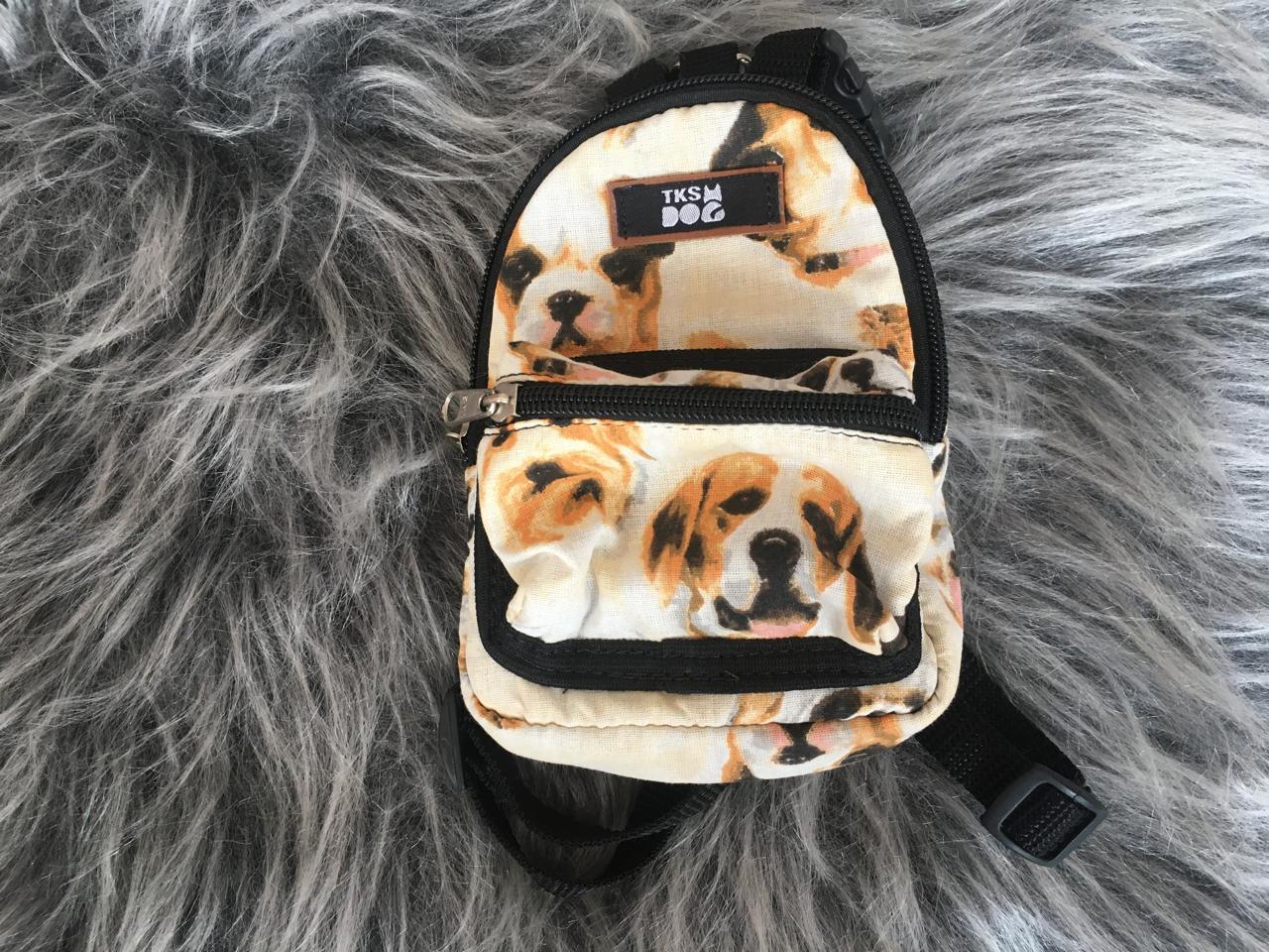 Mini Mochila Pet - Cachorrinhos