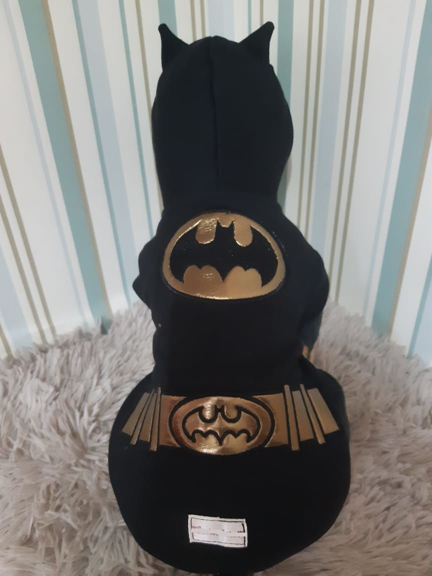 Blusa Moletom para Cachorro - Batman