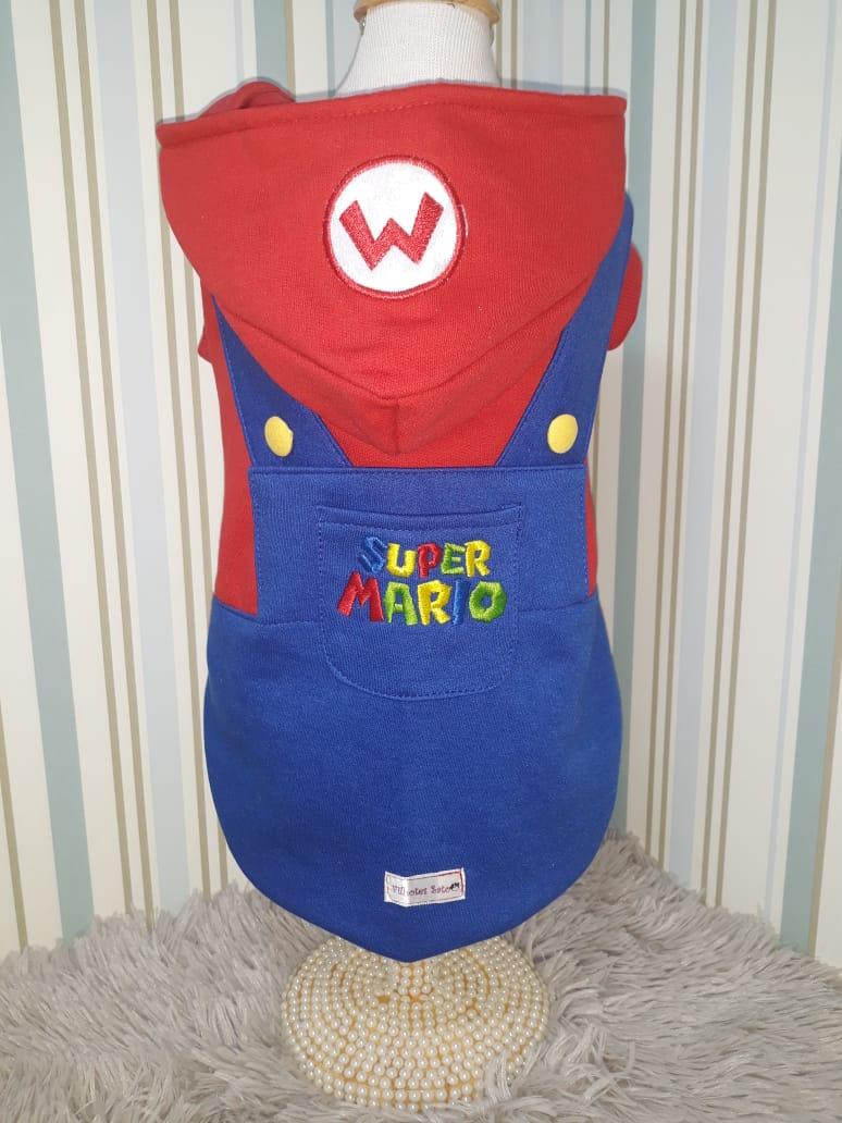 Blusa Moletom Mario Bross