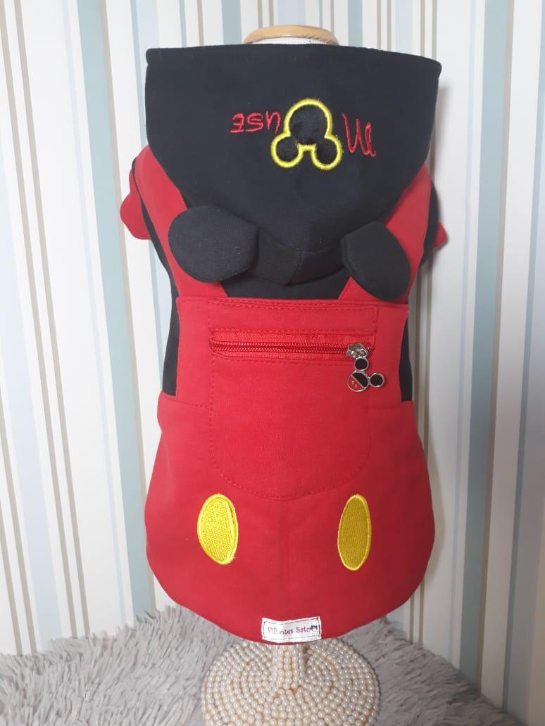 Blusa de Moletom para Cachorro Mickey Mouse